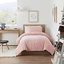 UGG® Marten 3-Piece King Comforter Set in Peach