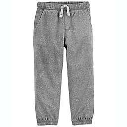 carter's® Size 12M Pull-On Fleece Pants in Grey