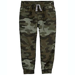 carter's® Size 12M Woven Jogger Pant in Green Camo
