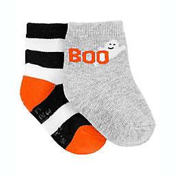 carter's® Size 0-3M 2-Pack Halloween Socks