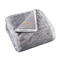 UGG® Mammoth Tipped Throw Blanket in Grey Tipped
