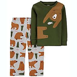 carter's® 2-Piece 100% Snug Fit Cotton & Fleece PJs