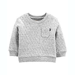 carter's® Size 6M Quilted Pullover Shirt in Grey
