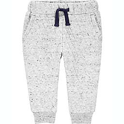 carter's® Quilted Jogger Pants in Grey