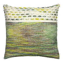 Alamode Home® Farron Topaz Square Throw Pillow in Sage Green