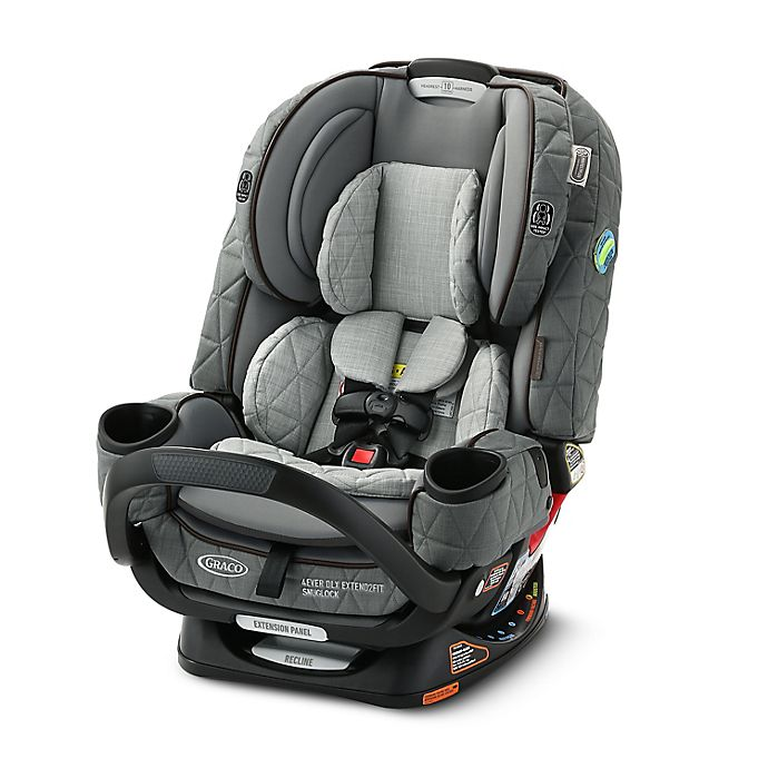 Alternate image 1 for Graco® Premier 4Ever DLX Extend2Fit SnugLock 4-in-1 Car Seat featuring Anti-Rebound Bar in Midtown