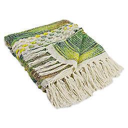Alamode Home® Farron Topaz Throw Blanket in Sage Green