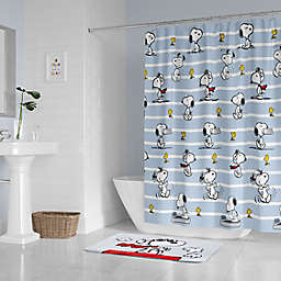 Peanuts™ Snoopy Pose Standard Shower Curtain