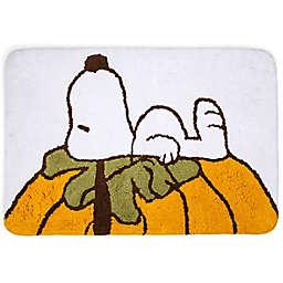 "Peanuts™ 20"" x 30"" Snoopy Autumn Leaves Bath Rug"