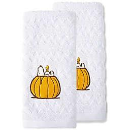 Peanuts™ Autumn Leaves Hand Towels (Set of 2)