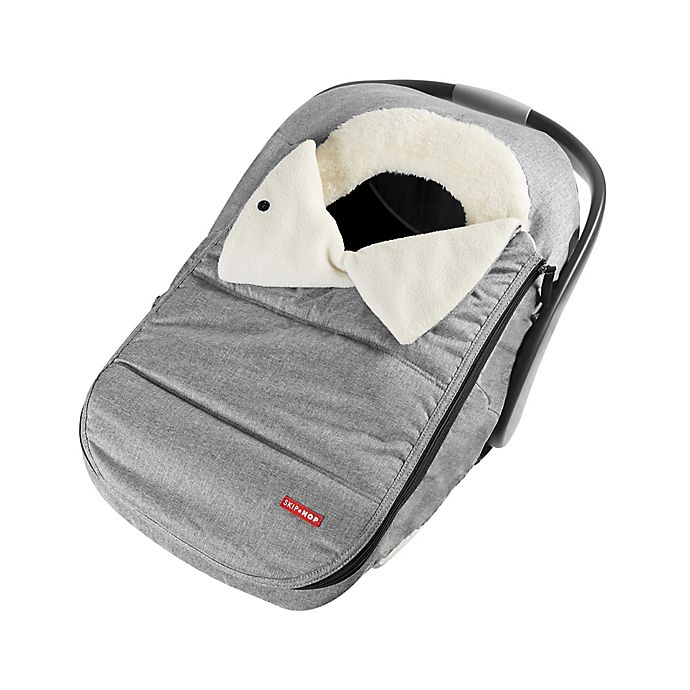 Alternate image 1 for SKIP*HOP® Stroll & Go Universal Car Seat Cover in Heather Grey