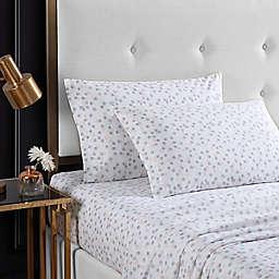 Betsey Johnson® Dot Full Sheet Set in White