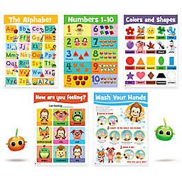 DMAI Animal Island Learning Adventure™ AILA Sit & Play Preschool Poster Set