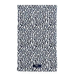 Scout® Coral Vines Printed Beach Towel in Navy