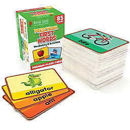 DMAI Animal Island Preschool First Words Flash Cards