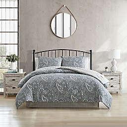 Stone Cottage Lancaster Reversible Comforter Set in Blue