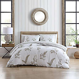 Stone Cottage Willow Reversible Full/Queen Comforter Set in Driftwood