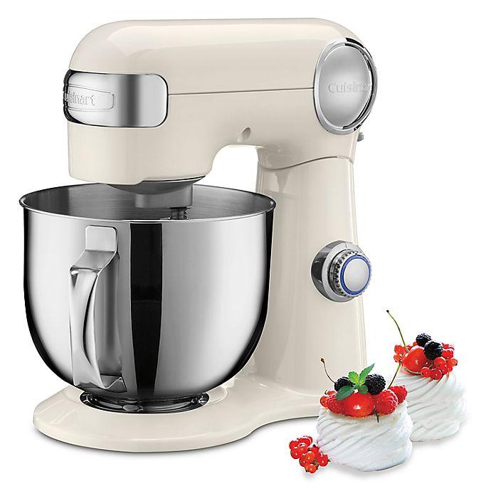 Alternate image 1 for Cuisinart® Precision Master™ 5.5 qt. Stand Mixer in Coconut Cream