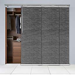 Rod Desyne 3-Panel Window Track in Charcoal