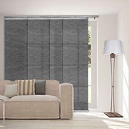 Rod Desyne 4-Panel Window Track in Charcoal