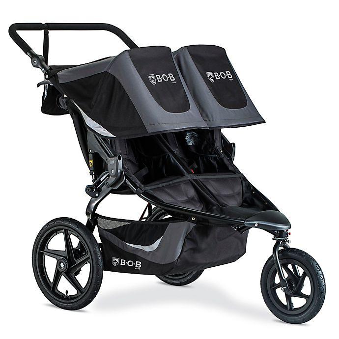 Alternate image 1 for BOB Gear® Revolution Flex 3.0 Duallie Jogging Stroller in Graphite/Black