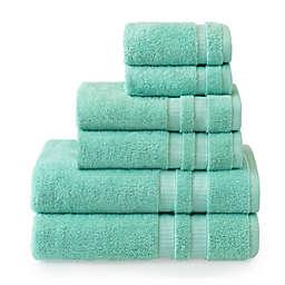Welhome Bleachmaster 6-Piece Bath Towel Set in Flax