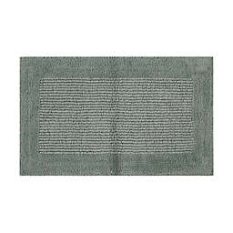 """Haven™ Reversible Cotton 21"""" x 34"""" Bath Rug in Chinois Green"""