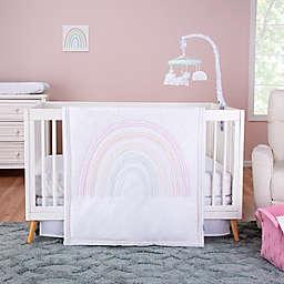 Trend Lab® Rainbow 3-Piece Crib Bedding Set in Pink