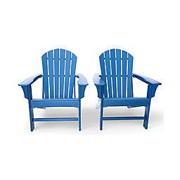 Luxeo Hampton Adirondack Chairs (Set of 2)