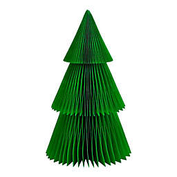 H for Happy™ 16-Inch Large Paper Christmas Tree in Classic Green
