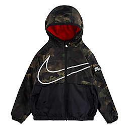 Nike® Size 4T Fleece Lined Windbreaker in Camo
