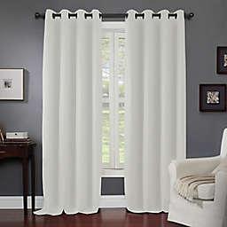 Kensington Home Fashions Wyndham Grommet Window Curtain Panel in Ivory (Single)