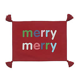 H for Happy™ Merry Merry Placemat