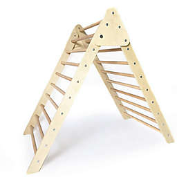 Cassarokids® Jumbo Wooden Foldable Climbing Triangle in Natural