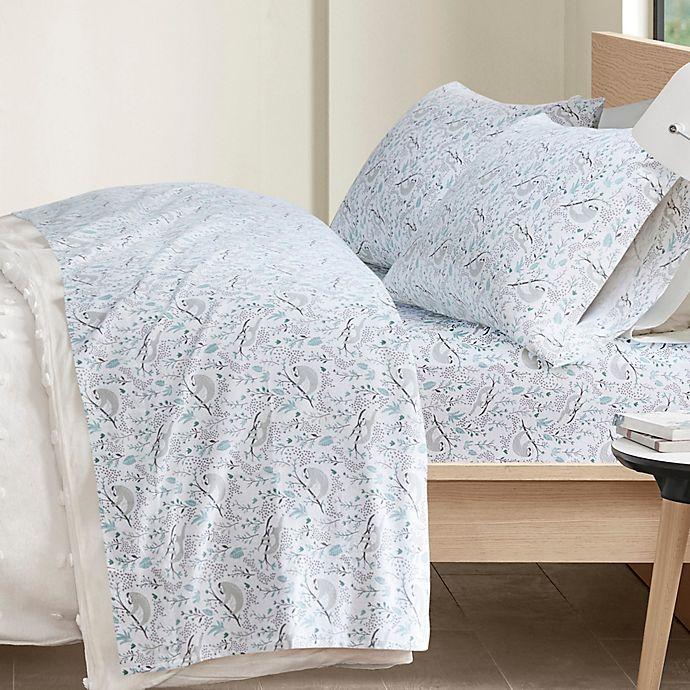 Alternate image 1 for Intelligent Design Cozy Soft Cotton Novelty Print Flannel Sheet Set
