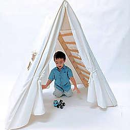 Cassarokids® Jumbo Climbing Triangle Tent in Natural
