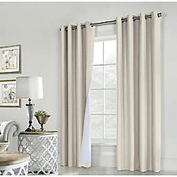 Commonwealth Home Fashions ThermaPlus Ventura Grommet Window Curtain  (Set of 2)