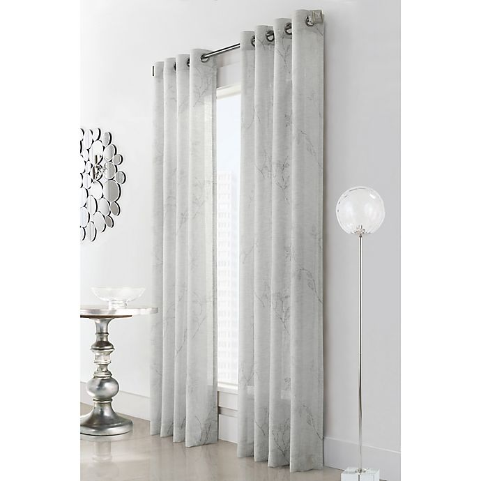 Alternate image 1 for Commonwealth Home Fashions Triston Grommet Window Curtain Panel (Single)