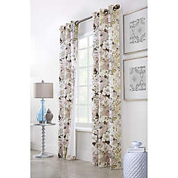 Commonwealth Home Fashions Belladonna 2-Pack 160-Inch x 84-Inch Grommet Window Curtain