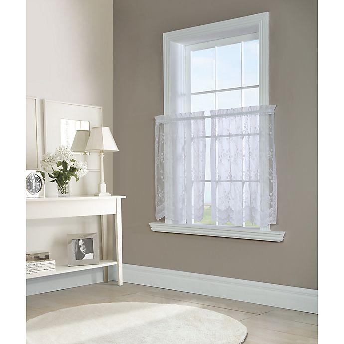 Alternate image 1 for Mona Lisa Kitchen Window Curtain Tier Pair