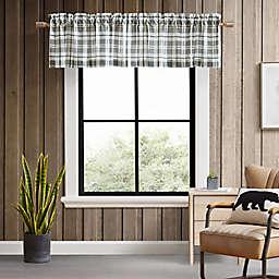 Eddie Bauer® Fall Creek Plaid Chrome Window Valance
