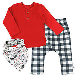 The Honest Company® Henley, Pant and Bib 3-Piece Set