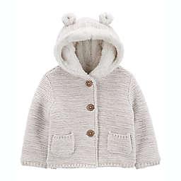 carter's® Hooded Sherpa Jacket