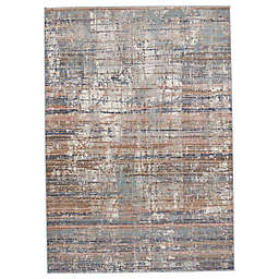 Jaipur Living Lysandra Abstract 6'7 x 9'6 Area Rug in Blue/Tan
