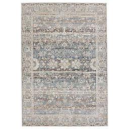 Jaipur Living Rosella Oriental 6'7 x 9'6 Area Rug in Light Grey/Blue