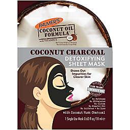 Palmer's® .60 fl. oz. Coconut Charcoal Detoxifying Sheet Mask