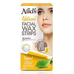 Nad's® 30-Count Facial Wax Strips