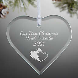 Create Your Own Heart Christmas Ornament