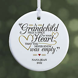 """Grandparents Are Special Personalized Premium Ornament- 2.85"""" Glossy - 1 Sided"""