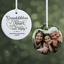 """Grandparents Are Special Personalized Premium Ornament- 2.85"""" Glossy - 2 Sided"""